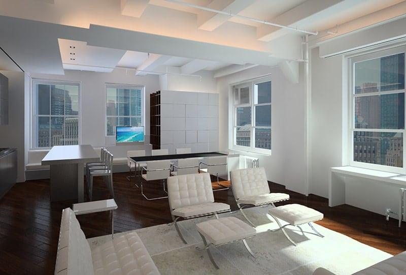 NY Apartment. Fantetti Workshop at Vicenza Italy