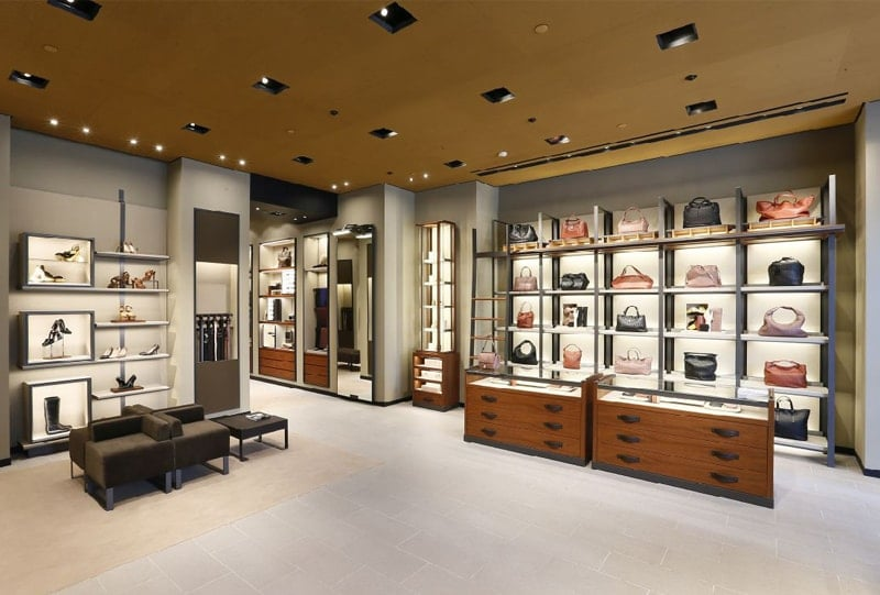 Luxury Retail. Store developed by Fantetti Workshop