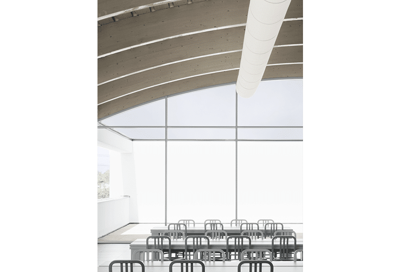 Cafeteria (Dinning hall) Bottega Veneta. Fantetti Workshop. Vicenza Italy