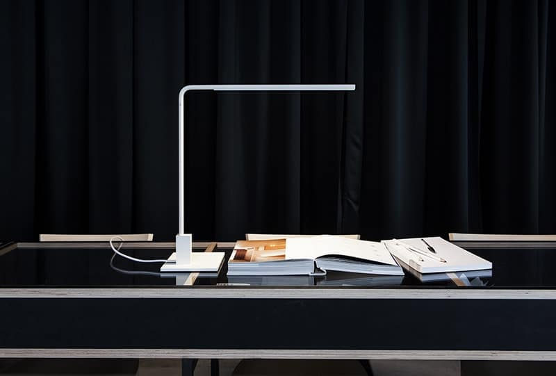 White Lamp of Fantetti Design - Italian Architect Alessandro Fantetti