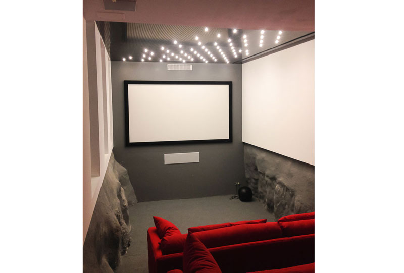 Cinema of the Villa at Menorca by Fantetti Workshop.