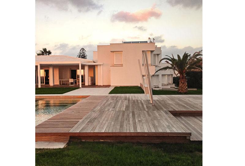Facciata della Villa a Minorca - Fantetti Workshop.