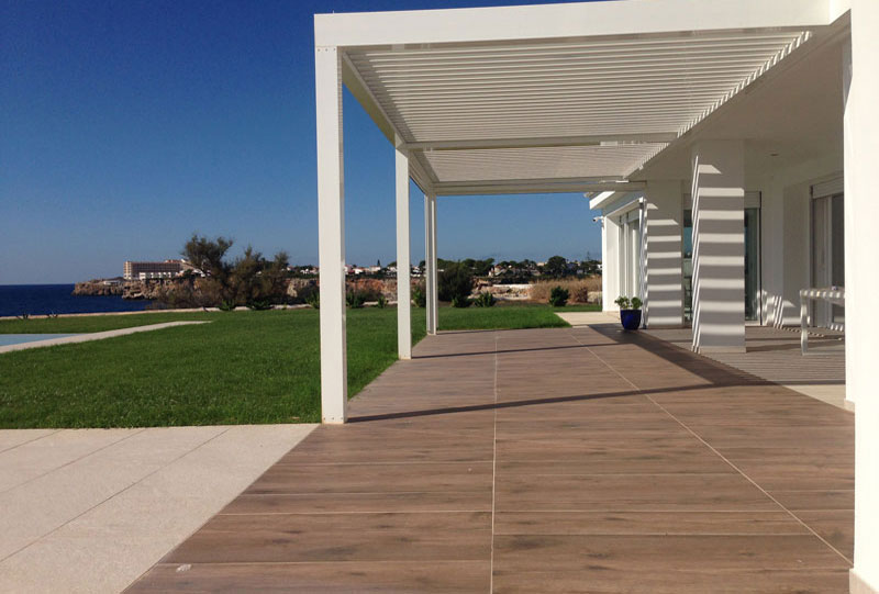Exterior view of the Villa at Menorca by Fantetti Workshop.