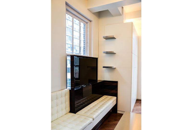 Lounge of NY Apartment by Italian Architect Alessandro Fantetti