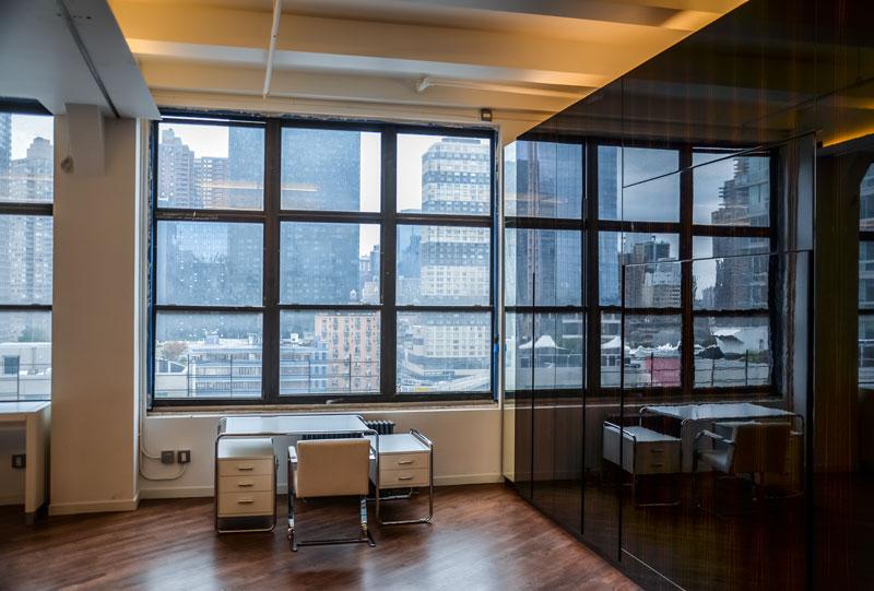 Kitchen of NY Apartment by Italian Architect Alessandro Fantetti